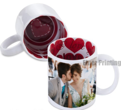 mug white i love you red