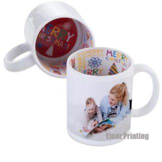 mug white xmas